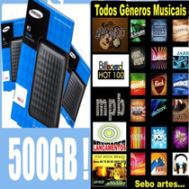 Hd500gb Musical (101.000 Mil Músicas)