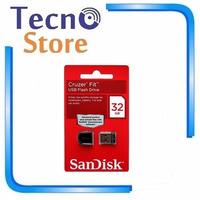 Micro Pen Drive Sandisk Cruzer Fit Z33 32gb Original Lacrado