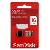 Ultra Mini Pendrive Nano Sandisk Fit 16gb! O Menor Do Mundo!