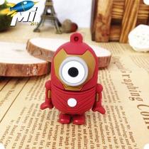 Pendrive Personalizado Minion Homem De Ferro - 8g - Promoção