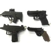 Pen Drive 4gb Personalizado Arma Pistola Uzzy Revolver 38