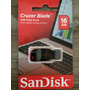 Pendrive Sandisk Cruzer Blade 16 Gb Lacrado