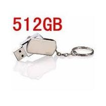 Pen Drive Aço Inoxidável 512 Gb