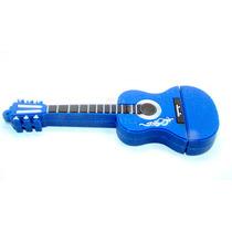Pen Drive Violão Azul-8 Gb