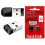 Pen Drive 32gb Sandisk Ultra Mini Micro Cruzer Fit Nano