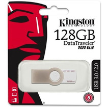 Pendrive Kingston 128gb Dt101 G3 - Original