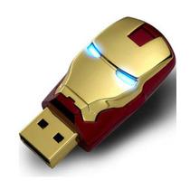 Pendrive 8 Gb Homem Ferro Iron Man - Pronta Entrega