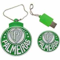 Pen Drive Personalizado Futebol Escudo Do Palmeiras 8 Gb!!!