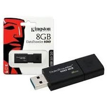 Pen Drive Kingston Data Traveler 8gb Usb 3.0 Orig - Lacrado