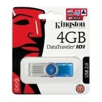 Pen Drive 4gb Kingston Dt 101 100% Original Lacrado !