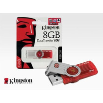 Pendrive Kingston 8gb Dt 101 G2 Com Urdrive - Certificado