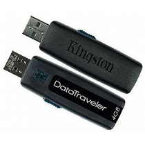 Pen Drive Kingston De 4 Gb Alta Capacidade Usb 2.0