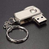 Pen Drive 64gb Chaveiro Inox - Envio Imediato