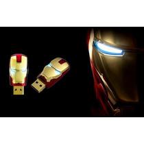 Pen Drive Homem De Ferro Usb Flash Drive 64 Gb Iron Man Novo