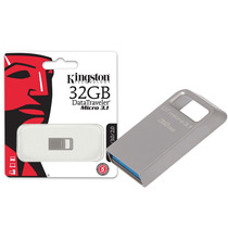 Pen Drive Usb 3.0 Kingston Dtmc3/32gb Datatraveler Micro 3.1