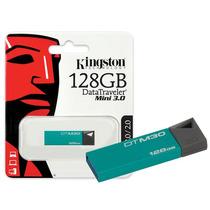 Pendrive Kingston 128gb Data Traveler Usb 3.0 Mania Virtual