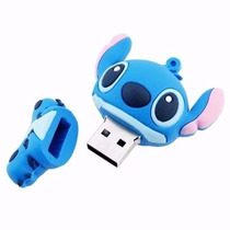 Pen Drive Personalizado Stitch 4gb+frete Grátis