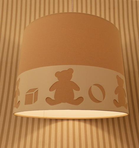 Luminaria Quarto Bebe Mercadolivre ~   Ursos Quarto De Beb? Crian?a  R$ 185,00 no MercadoLivre