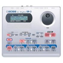 Bateria Eletrônica Boss Dr3 Na Cheiro De Música Loja !!