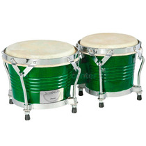Bongo Madeira Std 6,5 X 8 C. Ibanez X-pro Verde Brilhante