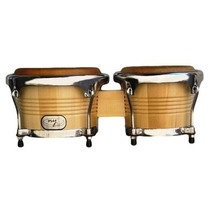 Ritmus ! Ny Percussion Bongo : De Maple Com Pele Animal
