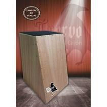 Cajon Eletro Acustico Cuervo Revolution C/ Bongo Gratis