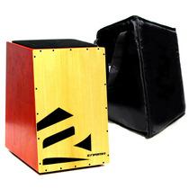Cajon + Bag Instrumento Carron Elétrico Profissional