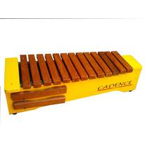 Xilofone Orff Soprano Teclas Naturais + Sib + Fa# Cadence