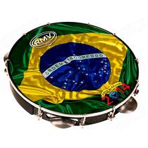 Pandeiro Rmv 10 Fibra Holográfico Copa 2014 Ppa0214 Em Abs