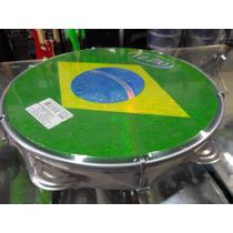 Pandeiro Profissional Izzo - Pele Brasil - Com Chave 10
