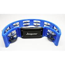 Pandeirola Pandeiro Meia Lua Jaguar Percussão Azul