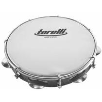 Pandeiro Nylon 10,5 Torelli Instrumento Musical Percussão
