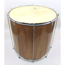 Surdo 60 X 18 Madeira - Uma Pele Animal Forte Musica