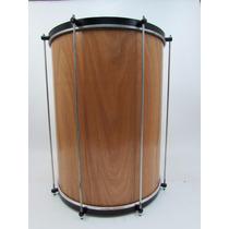 Surdo 22x60 Cm Madeira - Forte Musica