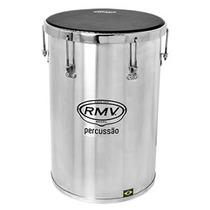 Percussão Rebolo Rmv Em Aluminio 12x45 Com Chave Para Afinar