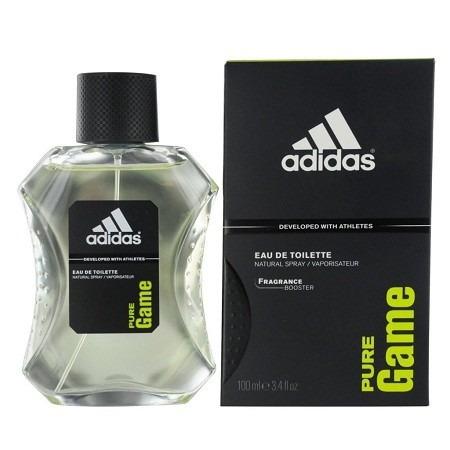 perfume adidas pure game masculino 100ml eau de toilette. Black Bedroom Furniture Sets. Home Design Ideas