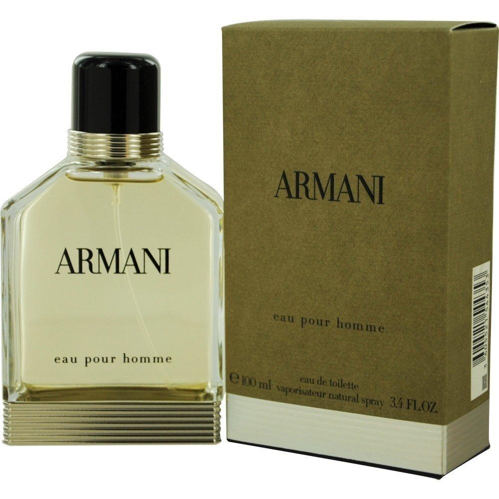 perfume armani pour homme eau de toilette masculino 100ml. Black Bedroom Furniture Sets. Home Design Ideas