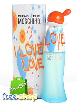 Perfume Moschino I Love Love 100ml Original Lacrado