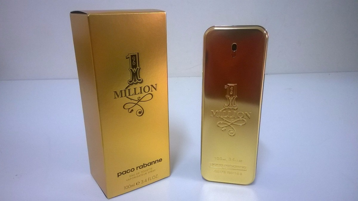 perfume one million paco rabanne 200ml importado original. Black Bedroom Furniture Sets. Home Design Ideas