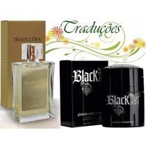 Perfume Hinode Traduções Gold 53 Fragancia Do Black Xs 100ml