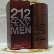 Perfume 212 Sexy Men Carolina Herrera 100ml - Original
