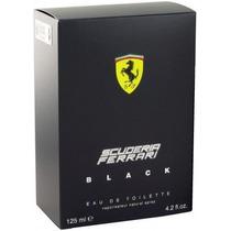 Ferrari Black Scuderia 125 Ml Original Lacrado Importado