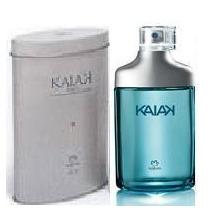 Colônia Perfume Kaiak Tradicional Com Lata Natura Novo