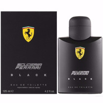 Perfume Ferrari Black 125ml Masculino Original Importadoperf