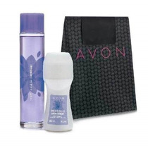 Avon Kit Essência Sensual -colonia 100 Ml+desodorante+brinde