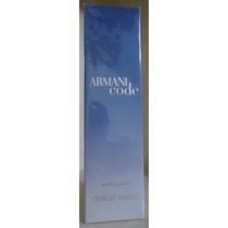 Armani Code Feminino Edp 75 Ml - Original Lacrado