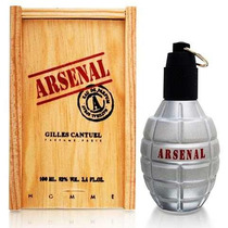 Perfume Arsenal Grey Masculino 100ml - Gilles Cantuel