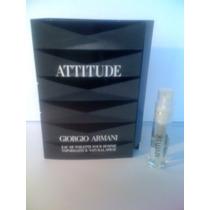Amostra Attitude G.armani Homme Eau De Toilette 1,5 Ml Spray