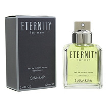 Eternity For Men - Calvin Klein - 100m Edt - Original