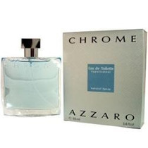 Perfume Azzaro Chrome 100ml 100% Original France Azarro